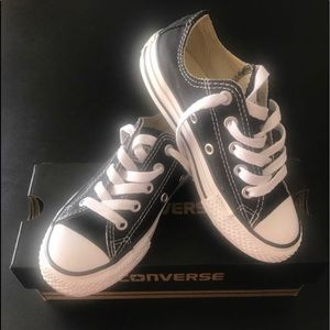 Youth converse all star black